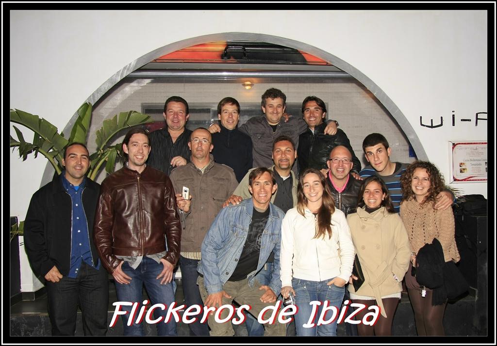 ¡Cena Flickeros de Ibiza! 25-04-2009