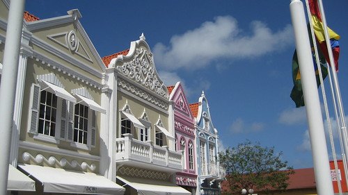 Nice buildings Aruba