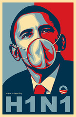 Barack Obama - Influenza H1N1 (Ben Heine after Shepard Fairey) (Ben Heine) Tags: wild wallpaper news home birds animals poster mexico death spread spain community europe kill mask action president unitedstatesofamerica seasonal simulation worldwide pigs laboratory future after isolation mistake endemic cure virus shepardfairey medecine influenza threat menace humans global masque 1918 outbreak mondial nobelprize publichealth interventions grippe researchers epidemic uwa politicalart infections pandemic maladie virulent swineflu h1n1 promiscuit strains grippeaviaire pandmie april2009 benheine barackhusseinobama pidmie afghanistanwar subtype schoolclosure influenzaa ah1n1 grippeporcine diseaseflu lifegende socialseparation infotheartisterycom