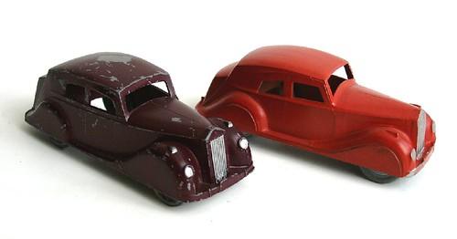 Rolls Royce Silver Wright, Robin Hood, die-cast, 1/43 circa