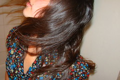 (erika arlene) Tags: motion hair flash hairflip
