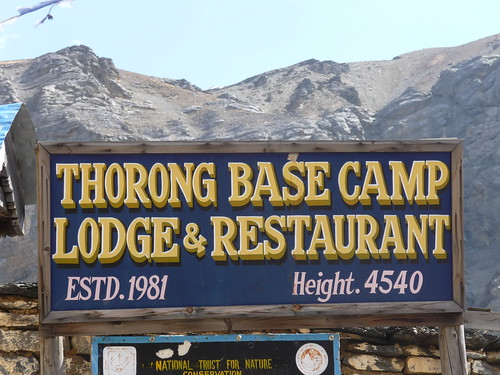 Thorong La Base Camp