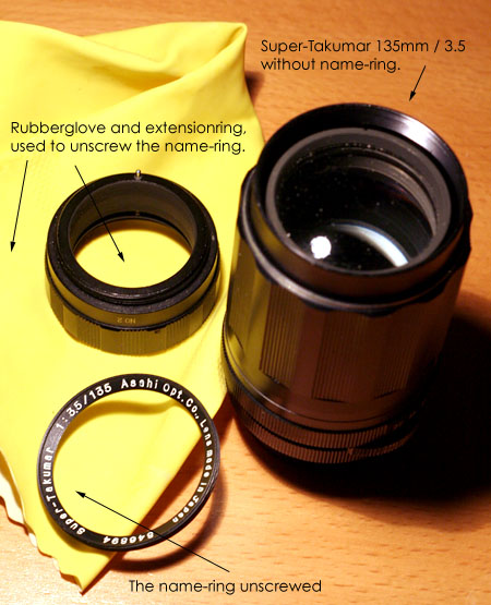 Fixing the Super-Takumar 135mm, image 1