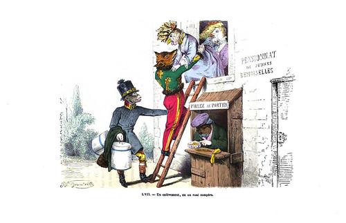 004-Les métamorphoses du jour (1869)-J.J Grandville