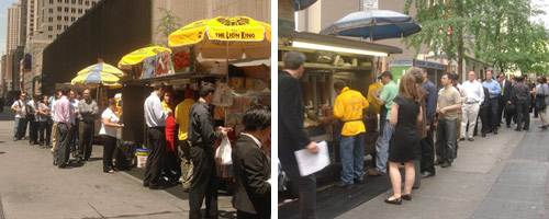 Are Lunchers Finally Getting the Message About the Halal Carts on 53rd & 6th?