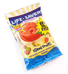 Life Savers Island Fruits Gummis Bag Package
