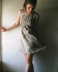 0c7e89f60cf linen pleated tunic (larimeloom) Tags  beige natural linen ecru  tunicclothingfashionitalydesigndresswomanlarimeloometsyhandmade