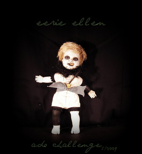eerie ellen Art Doll Challenge by ADO