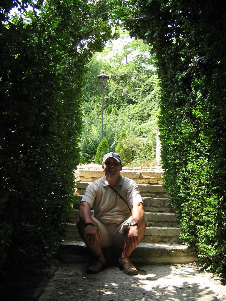 Во ботаничката градина во Балчик