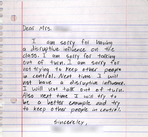 Michaels Blog Free apology love letters