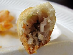 crawfish shack seafood - egg rolls