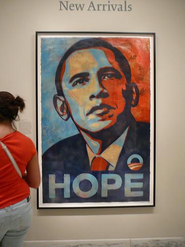 The real life Obama HOPE screenprint