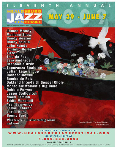 11th Annual Healdsburg Jazz Festival May 29 - June 7