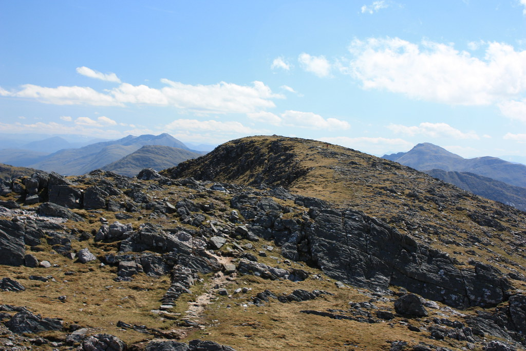 Summit of Sgurr na Sgine