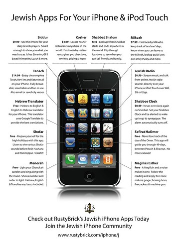 iPhone Jewish Apps Ad