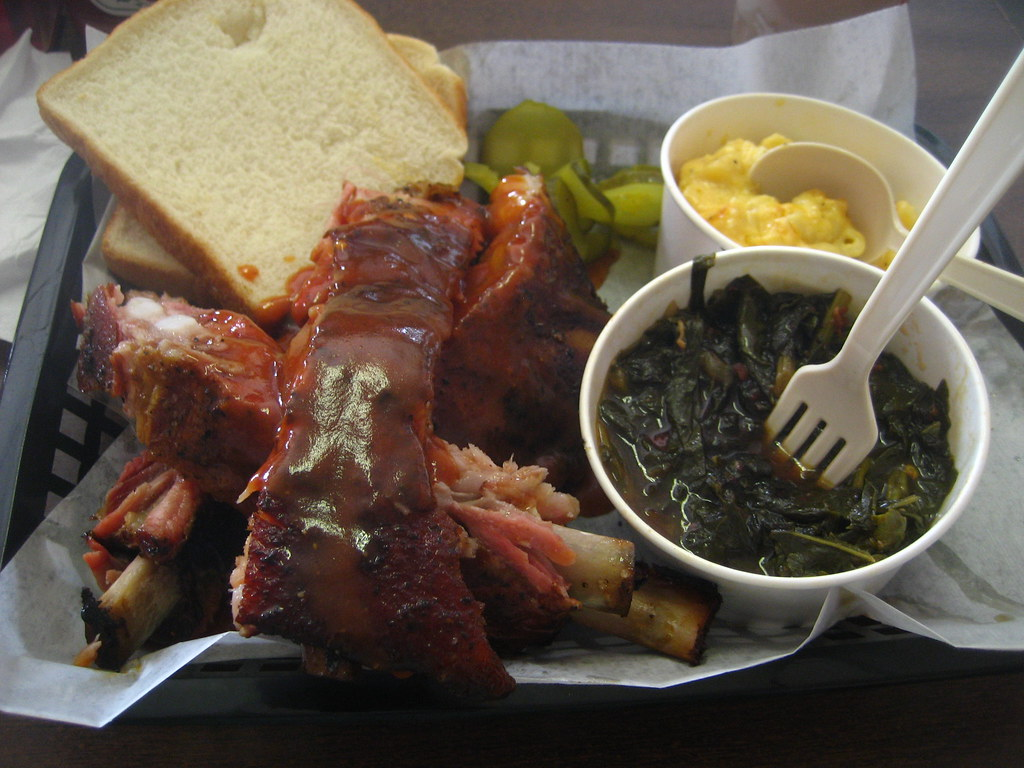 Saw's BBQ Ribs Plate and Sides