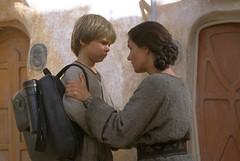Anakin y mamá