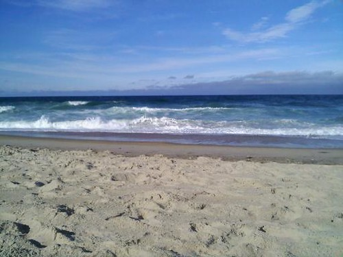 Nags Head Beach, OBX. My senior year of college, I read Herman Melville's