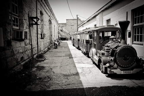 My Photo of the Day   Alley Train
