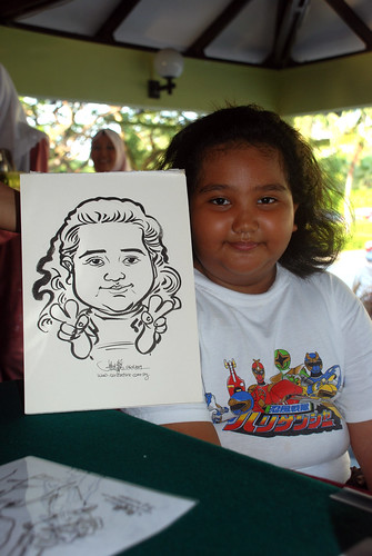 Caricature live sketching for Costa Sands Resort Day 2 - 4