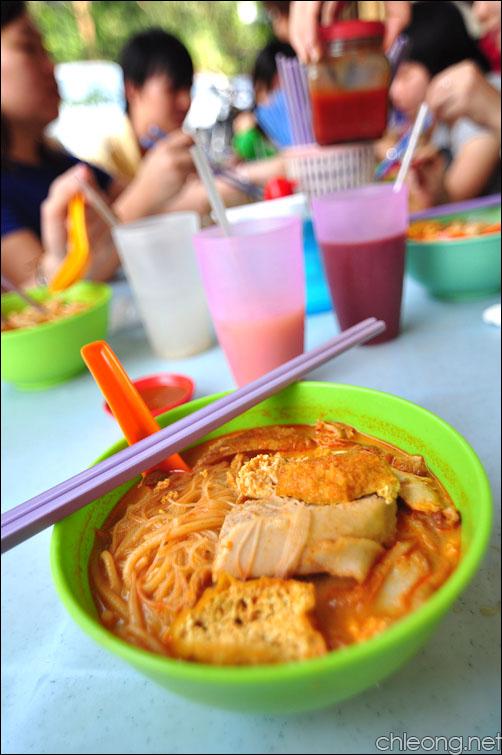 Curry Mee @ Hoi Yin