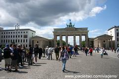 Fotografia do Portão de Brandemburgo
