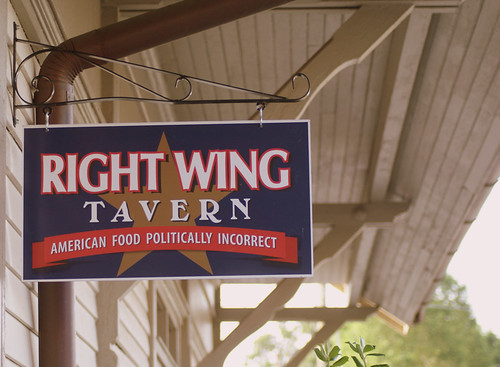 Right Wing Tavern in Woodstock