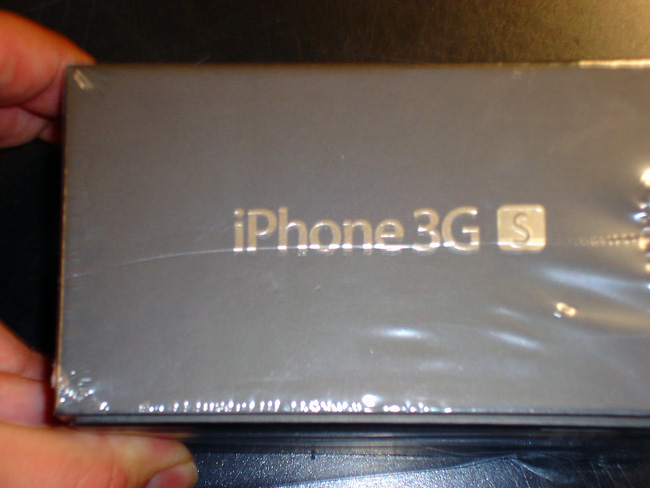 iphone 3G S unboxing