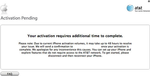 iPhone AT&T Activation Failure 4