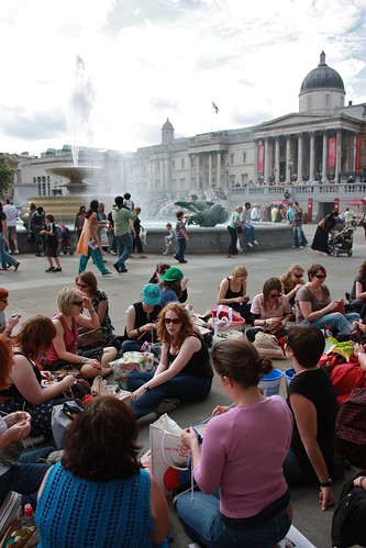 Knit Crawl Stop Four: Trafalgar Square
