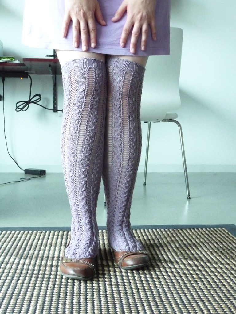 Rapunzel Stockings