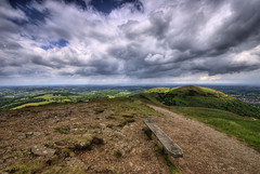 England: Worcestershire - Malvern Hills (Tim Blessed) Tags: uk sky nature clouds landscapes countryside scenery hills fields worcestershire malvernhills singlerawtonemapped