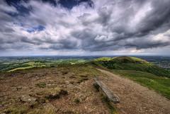 England: Worcestershire - Malvern Hills (Tim Blessed) Tags: uk sky nature clouds landscapes countryside scenery hills fields worcestershire malvernhills singlerawtonemapped