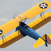 John Mohr w/ Stearman Along The Ground, Waving To The Crowd  - 2009 QCAS