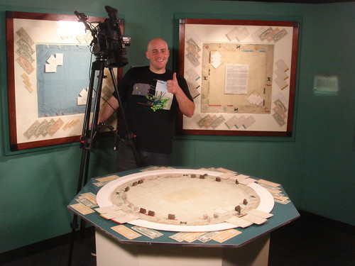 Filming at the Forbes Museum