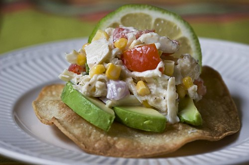 Crab Tostadas Recipe — Dishmaps