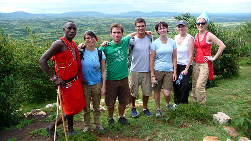 Day 5: Our crew at the top of the mountain