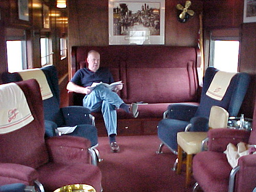 Private Rail Car - Promontory Point, lounge