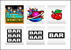 free Astronomical slot game symbols
