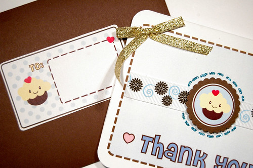 Kawaii Thank You Card