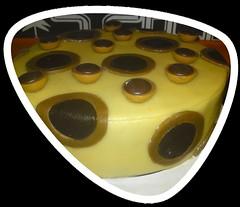 Schoko Karamell- Torte (Tortenwahn) Tags: marzipan nus fondant schoko gebck nuss ss karamell buttercreme motivtorte mottotorte mottotorten