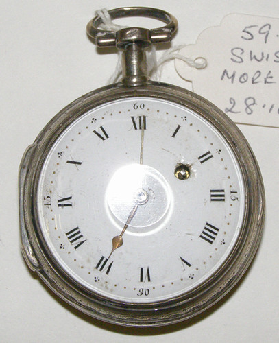 Pocket watch by Swiss, More & Fils, c1810