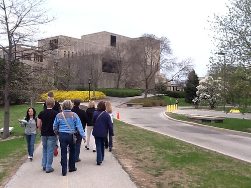 Touring Campus at Northwestern