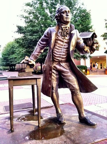 George Mason Statue at GMU