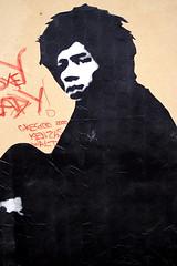 Jef Aerosol : Jimi Hendrix (dprezat) Tags: jefaérosol jimihendrix tag fresque pochoir graf peinture aérosol bombe painting street art konicaminoltad7d
