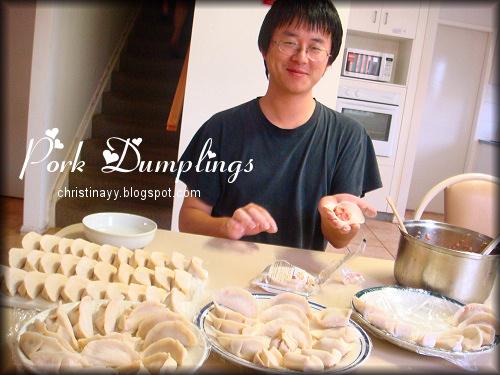Reunion Dinner 2009: Hand-made Dumplings