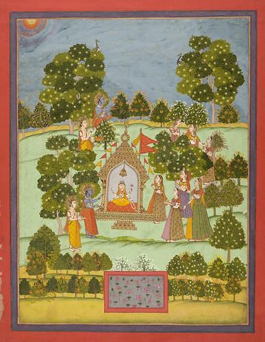 014- Pintura india siglos XVIII- XIX