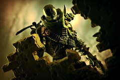Through the Ramparts (pairadocs) Tags: toy actionfigure book mod war comic action destruction military assault camo plastic camouflage comicbook figure custom spawn toddmcfarlane rubble commando modded mcfarlane repaint pairadocs pairadocsdesignlab tpots spawniv
