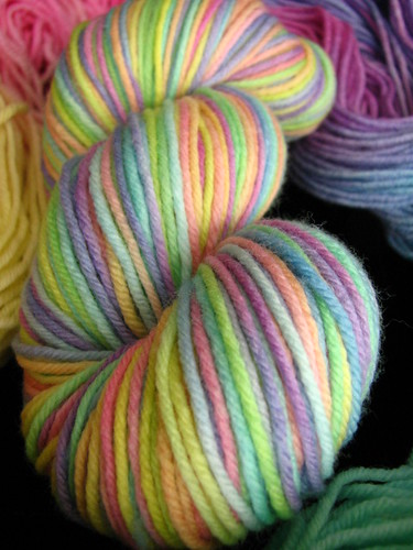 Tutti Fruity Rainbow - Siberian Tiger SW Worsted