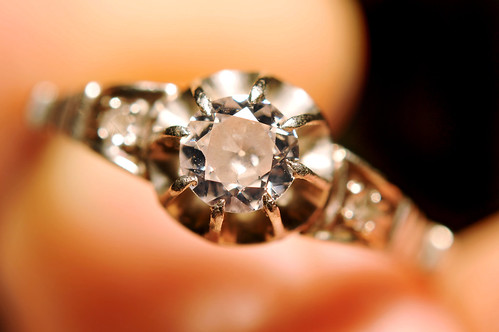 Diamond ring by Tambako The Jaguar on Flickr